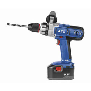 Photo of AEG BSB14STX-R Cordless 14.4V Combi Drill With 2X 2.0AH NICD Batteries Power Tool