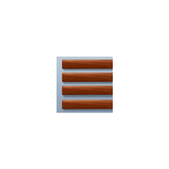 Blinds-Supermarket Carmine Wood (25mm)