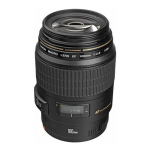 Photo of Canon Lens EF 100MM F2.8 Macro USM Lens