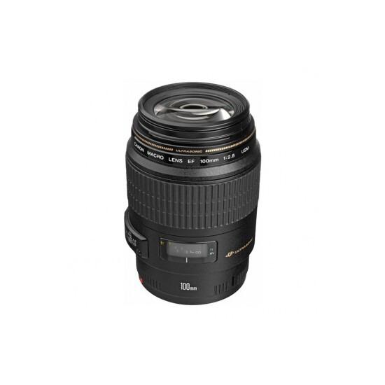 Canon Lens EF 100mm f2.8 Macro USM
