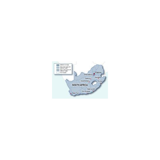 Garmin City Navigator NT Maps South Africa SD/microSD card - 010-10941-50
