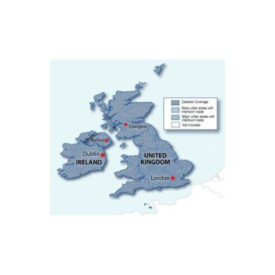 Garmin City Navigator NT Maps UK/Ireland 2008 SD/microSD card - 010-10691-00