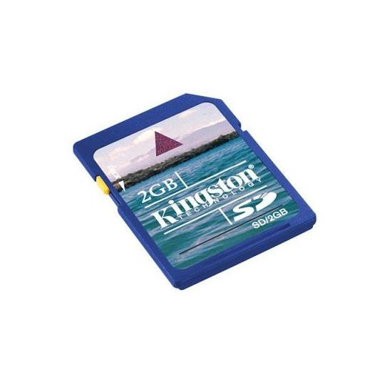 Kingston 2GB Secure Digital Card - SD/2GB