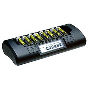 Photo of Maha PowerEx MH-C801D Eight Cell 1-HR Charger Camera and Camcorder Battery