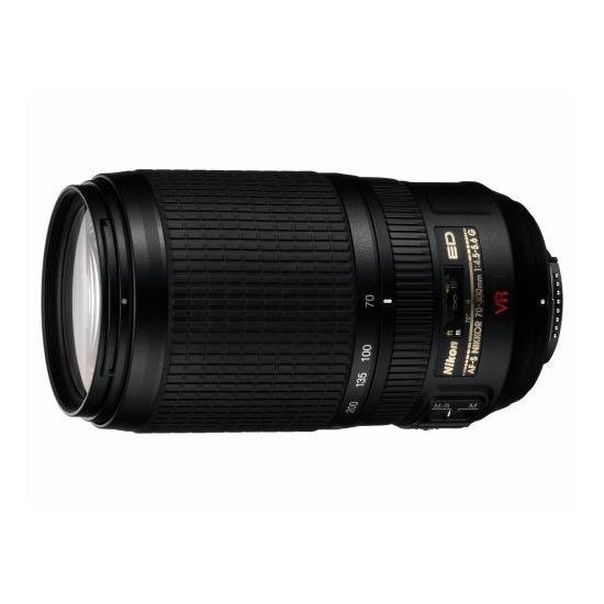 Nikon AF-S VR Zoom Nikkor 70-300mm F/4.5-5.6G IF-ED