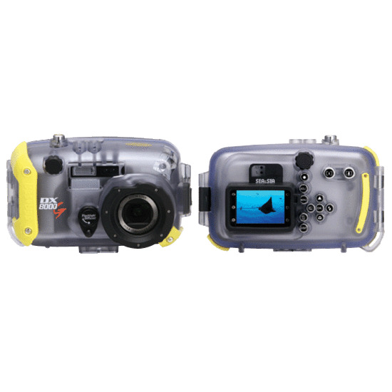 Sea and Sea 8000G Camera and DX-8000G Housing Set