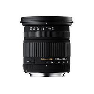Photo of Sigma 17-70MM F2.8-4.5 DC Macro HSM Lens