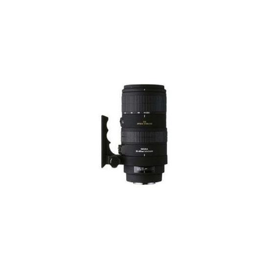 Sigma AF80-400 F4.5-5.6 EX DG OS