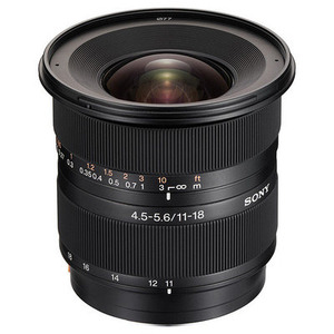 Photo of Sony DT 11-18MM F4.5-5.6 Super Wide Angle Zoom Lens Lens