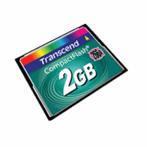 Photo of Transcend 2GB CF Card Memory Card