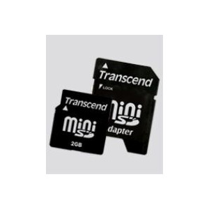 Photo of Transcend 2GB MINISD - TS2GSDM Memory Card