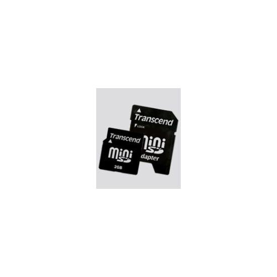 Transcend 2GB miniSD - TS2GSDM