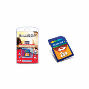 Photo of Transcend 2GB SD - TS2GSDC Memory Card