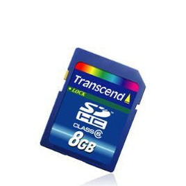 Transcend 8GB SDHC Reviews