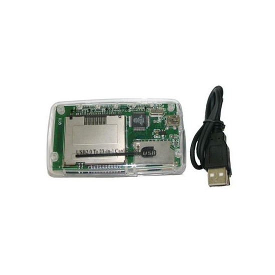 USB2.0 23-in-1 Card Reader