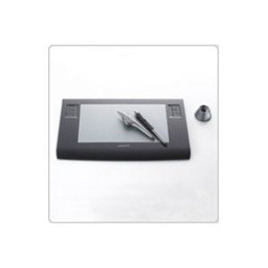 Photo of Wacom INTUOS3 SE A5 Wide Tablet + Pen + Airbrush USB Computer Mouse