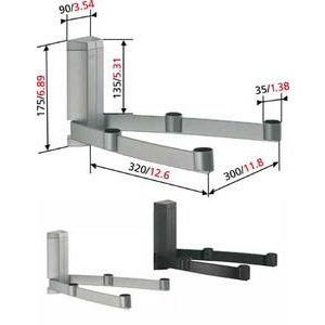 Photo of Vogel's TVA2046 - AV/Audio/Video/DVD Multi Support TV Stands and Mount