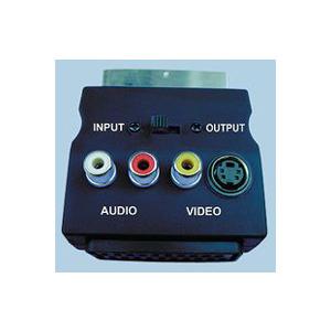 Photo of AV4HOME SCART Throu' Adaptor - AV Phono Breakout. Adaptors and Cable