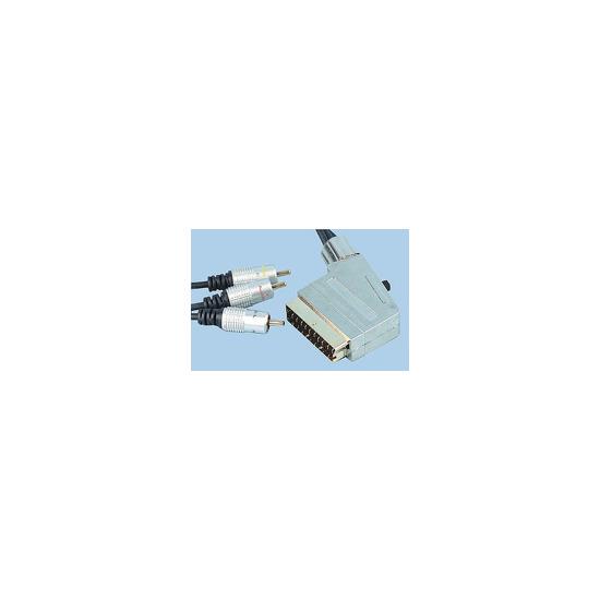 AV4Home AV414293 -  Scart to Phono Cable 2m
