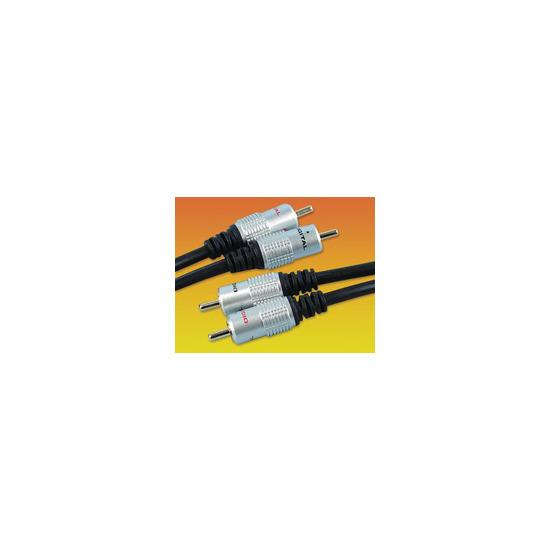 AV4Home  Twin Phono Audio Cable