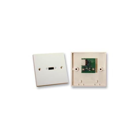 AV4Home AV41632703 Single Gang HDMI Wall Plate