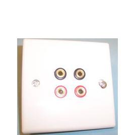 AV4Home AP46736 - Speaker connection plate x4 banana connectors Reviews