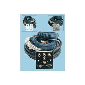Photo of AV4HOME AV4SG206 - AV Wall Plate Assembly With HDMI Adaptors and Cable