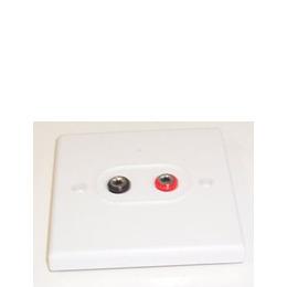AV4Home AP400003 - Speaker connection plate x2 banana connectors Reviews