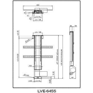 Photo of Lava LVE-6455 TV Stands and Mount