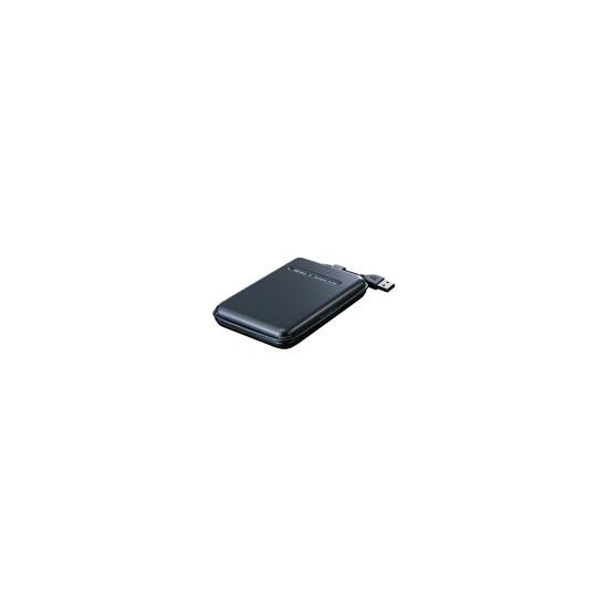 Buffalo MiniStation TurboUSB HD-PS500U2 - Hard drive - 500 GB - external - Hi-Speed USB - 5400 rpm