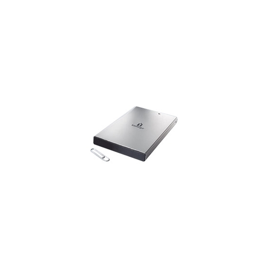 Iomega Portable Hard Drive Silver Series - Hard drive - 200 GB - external - FireWire / Hi-Speed USB - 5400 rpm - buffer: 8 MB