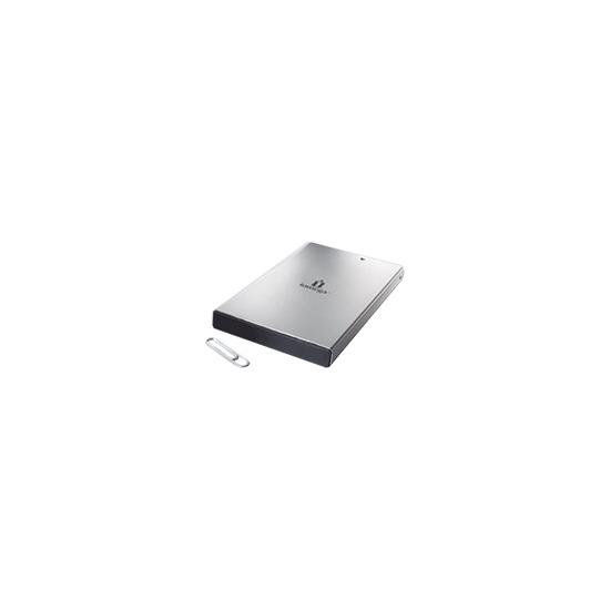 Iomega Portable Hard Drive Silver Series - Hard drive - 200 GB - external - FireWire / Hi-Speed USB - 5400 rpm - buffer: 8 MB