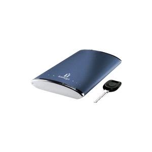 Photo of Iomega EGo Portable - Hard Drive - 250 GB - External - Hi-Speed USB - 5400 RPM - Buffer: 8 MB - Midnight Blue Hard Drive