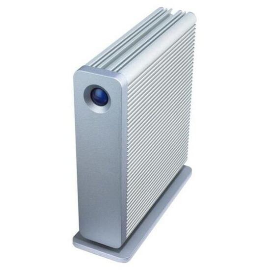 LaCie d2 Quadra Hard Disk - Hard drive - 500 GB - external - FireWire / FireWire 800 / Hi-Speed USB / eSATA-300 - 7200 rpm - buffer: 16 MB