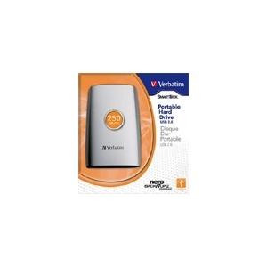 Photo of Verbatim SmartDisk Portable Hard Drive 250 GB External Hard Drive