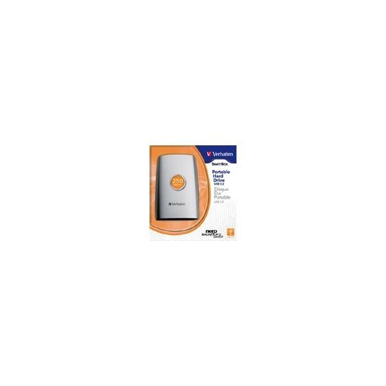Verbatim SmartDisk Portable Hard Drive 250 GB