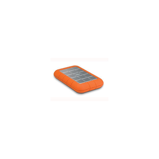 LaCie Rugged All-Terrain Hard Disk - Hard drive - 320 GB - external - Hi-Speed USB - 5400 rpm - buffer: 8 MB