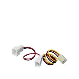 Akasa - Fan power adapter - 3 PIN internal power (F) - 3 PIN internal power (M) Reviews
