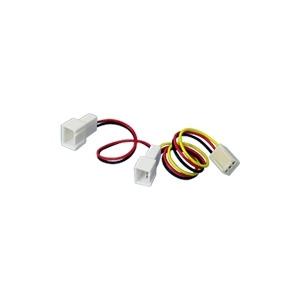 Photo of Akasa - Fan Power Adapter - 3 PIN Internal Power (F) - 3 PIN Internal Power (m) Computer Component