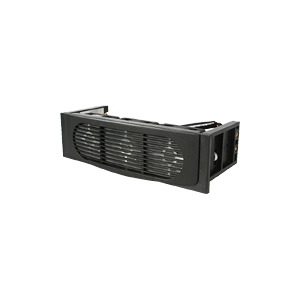 Photo of StarTech.Com Triple Fan Hard Drive Cooling Kit - Hard Drive Cooler - Black Computer Component