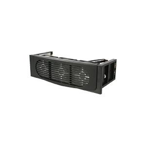 Photo of StarTech.Com Triple Fan Hard Drive Cooling Kit - Hard Drive Cooler - Black Computer Component