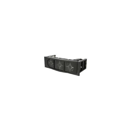 StarTech.com triple fan hard drive cooling kit - Hard drive cooler - black