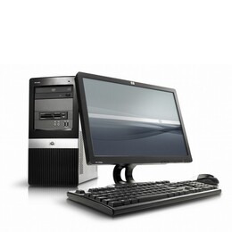 HP Compaq Business Desktop dx2400 E4600 2GB 500GB Reviews