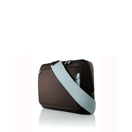 "Belkin Messenger Bag for notebooks up to 17"" - Notebook carrying case - chocolate, tourmaline Reviews"