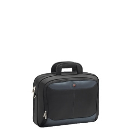 "Targus Atmosphere 17"" Notebook Case - Notebook Carrying Case - Black, Blue Reviews"