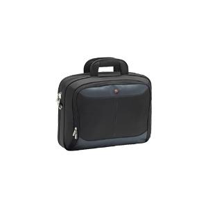 "Photo of Targus Atmosphere 17"" Notebook Case - Notebook Carrying Case - Black, Blue Laptop Bag"