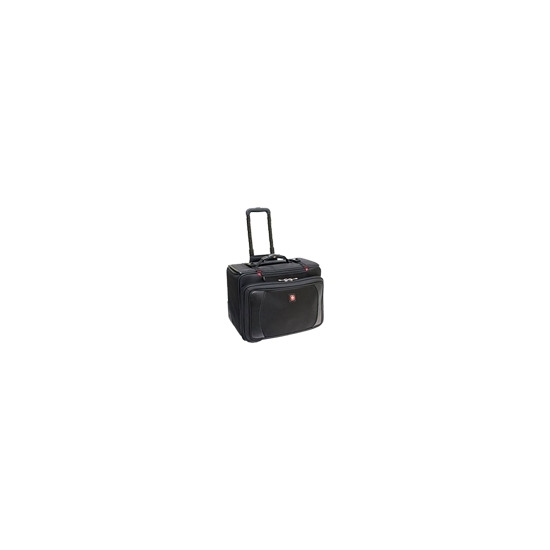 Wenger SHIELD Wheeled Computer Case - Notebook carrying case - black