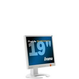 "Iiyama Pro Lite B1902S-W1 - Flat panel display - TFT - 19"" - 1280 x 1024 - 300 cd/m2 - 1000:1 - 2 ms - 0.294 mm - DVI-D, VGA - speakers - white Reviews"