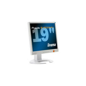 "Photo of Iiyama Pro Lite B1902S-W1 - Flat Panel Display - TFT - 19"" - 1280 X 1024 - 300 CD/M2 - 1000:1 - 2 ms - 0.294 mm - DVI-D, VGA - Speakers - White Monitor"