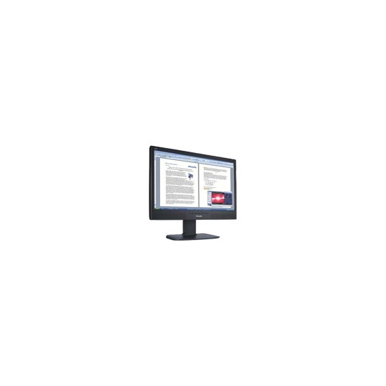 "Philips 240BW8EB - Flat panel display - TFT - 24"" - widescreen - 1920 x 1200 / 60 Hz - 250 cd/m2 - 1000:1 - 5 ms - 0.27 mm - DVI-D, VGA - speakers"